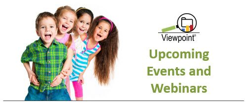 Viewpoint upcoming events and webinars